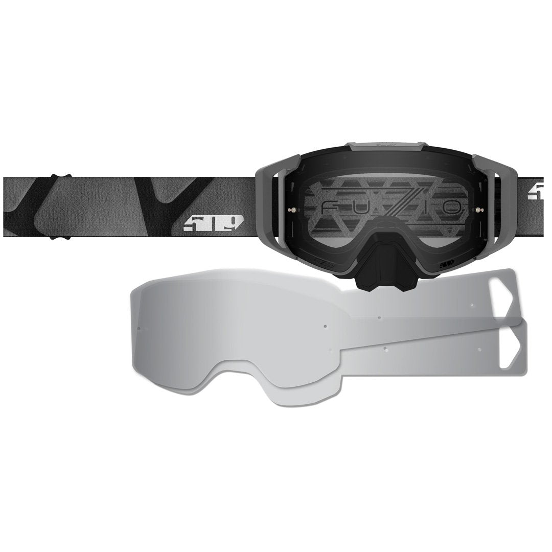 Laminated Tear Off Refills for MX6 Goggle
