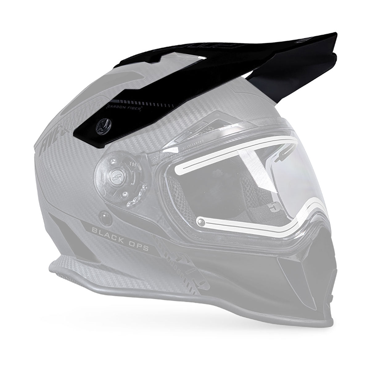 Visor for Delta R3 Carbon Fiber Helmets