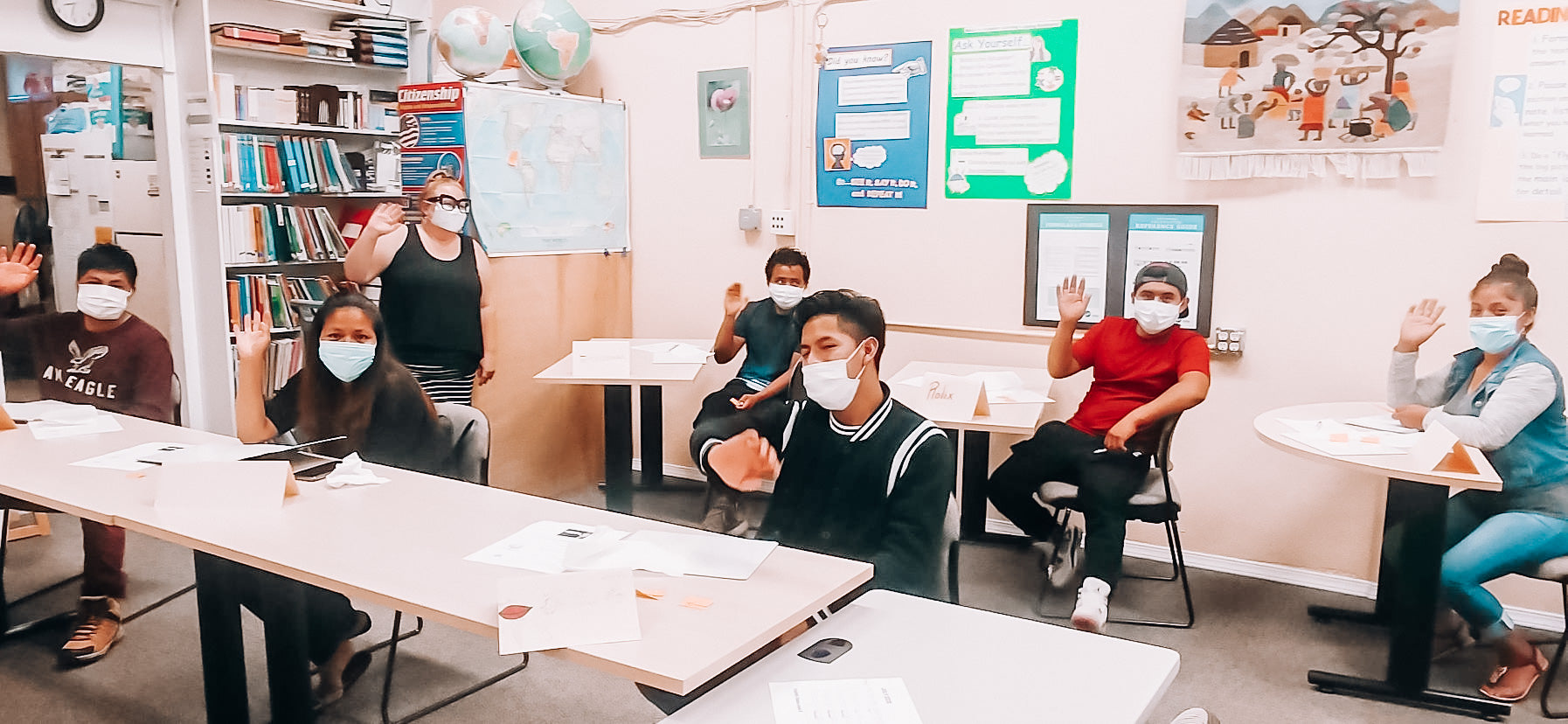"""Small But Mighty"": Monster Aid sends Sound Learning three month supply of masks to continue safe education"