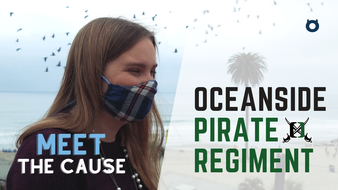 Introducing the Oceanside Pirate Regiment!