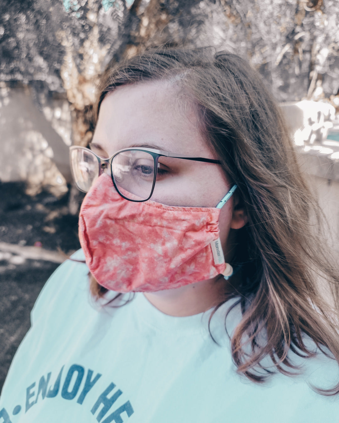 Great Barrier Reef Reversible Fabric Face Mask