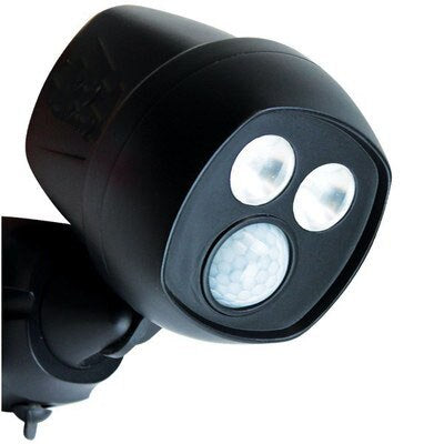 Night Motion-Activated Hawk Wireless Security Spotlight