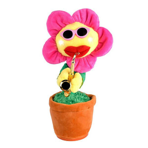 """Annoying Flower"" Singing Cat Toy"