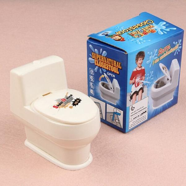 Toilet Prank Toy - PERFECT PRANK FOR APRIL FOOLS' DAY