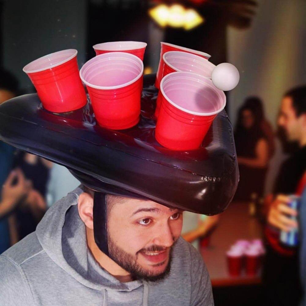 Inflatable Beer Pong Head Game