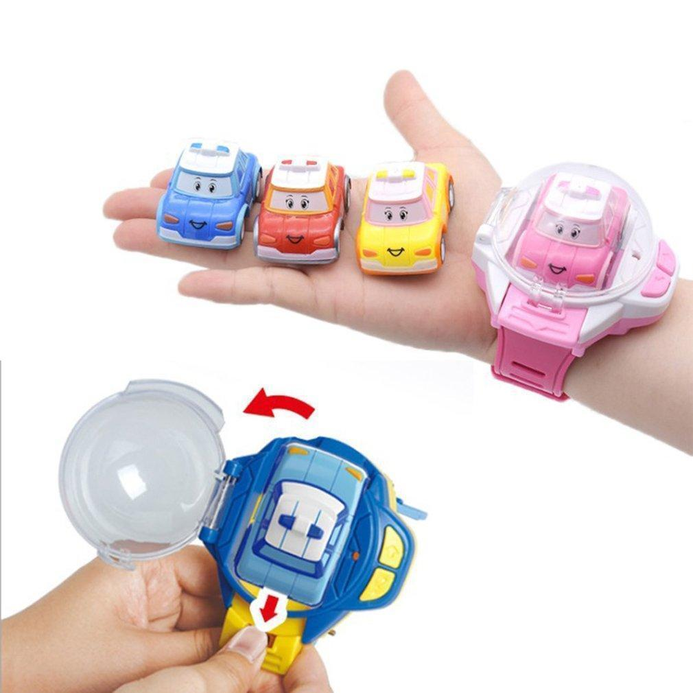 MINI REMOTE-CONTROLLED CAR WATCH