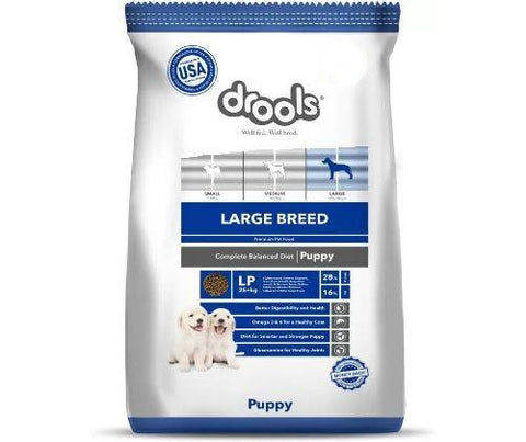 Drools Dog Food 1.2Kg - Puppy (Large Breed)