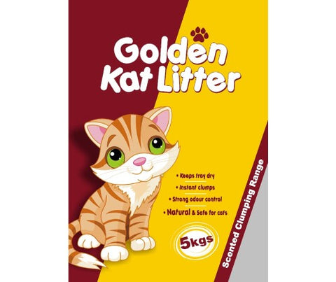 Golden Kat (Cat) Litter - 5Kg