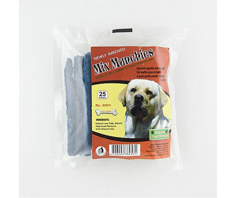 Seepet Dog Bites - Mixed Munchies 25Pcs