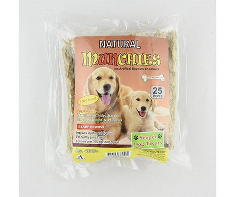 Seepet Dog Bites - Natural Munchies 25Pcs