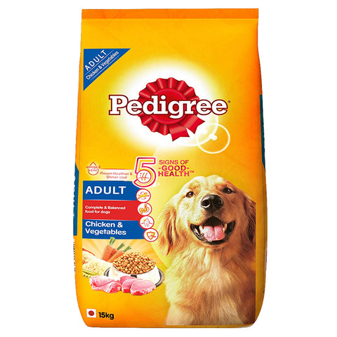 Pedigree Chicken & Vegetables 15Kg - Adult Dog