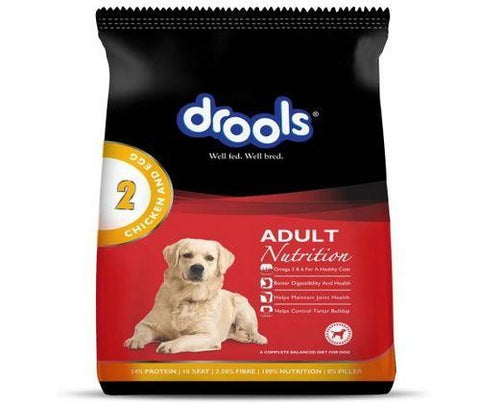 Drools  Adult Dog Food Chicken and Egg 3Kg