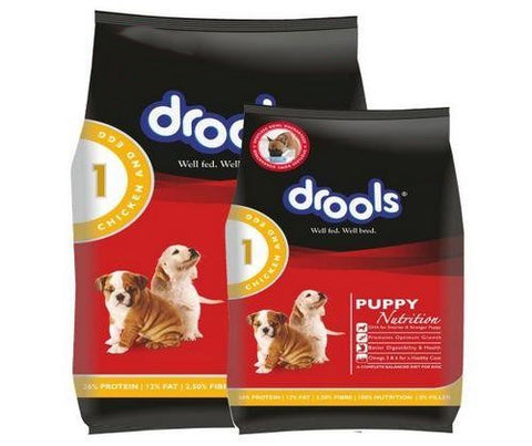 Drools Puppy Dog Food Chicken and Egg 3Kg