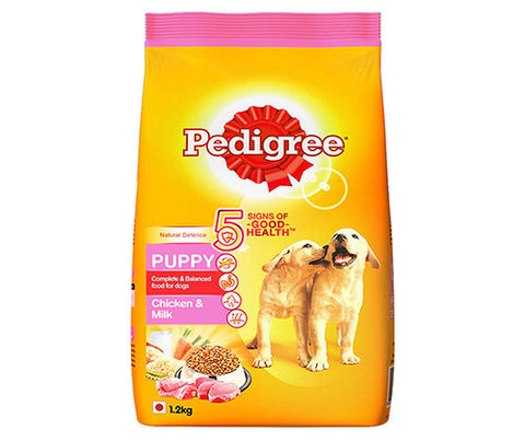 Pedigree Chicken & Milk 1.2Kg - Puppy