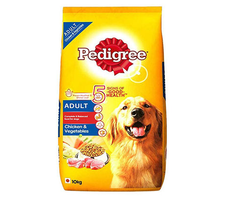 Pedigree Chicken & Vegetables 10Kg - Adult Dog