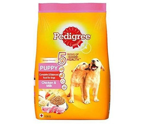 Pedigree Chicken & Milk 10Kg - Puppy