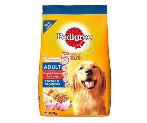 Pedigree Chicken & Vegetables 400g - Adult Dog