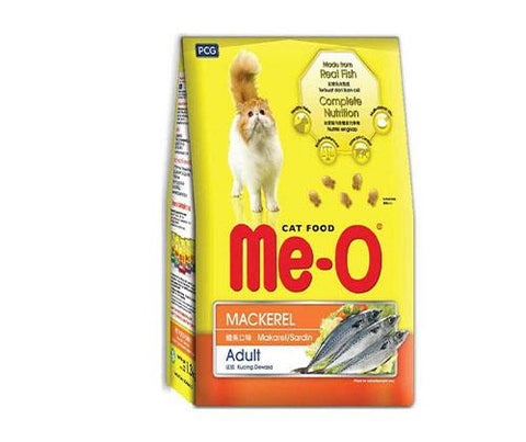Me-O Mackerel Flavoured Cat Food 3Kg