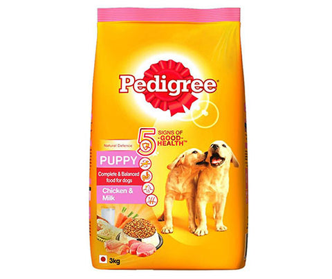Pedigree Chicken & Milk 3Kg - Puppy