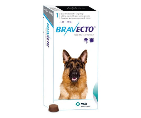 Bravecto 1000mg 1 Tablet