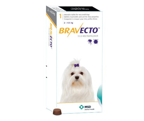 Bravecto 112.5mg 1 Tablet