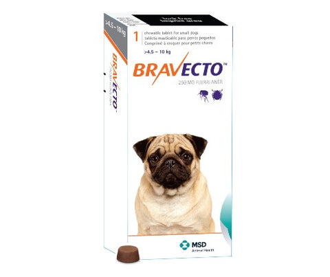 Bravecto 250mg 1 Tablet