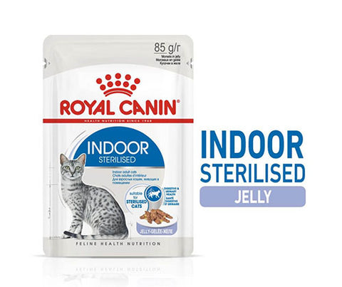 Royal Canin Indoor Sterilised (in Jelly) 12x85g - Cats