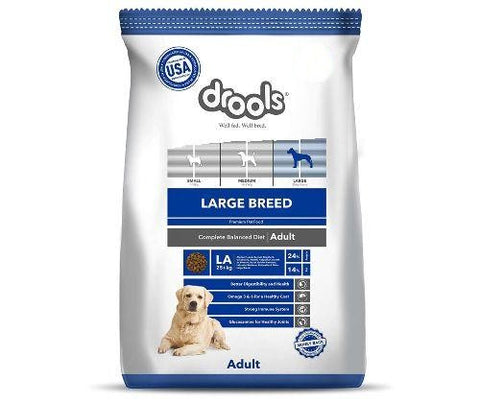 Drools Dog Food 12Kg - Adult (Large Breed)