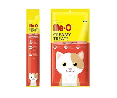 Me-O Creamy Treats - Crab Flavour