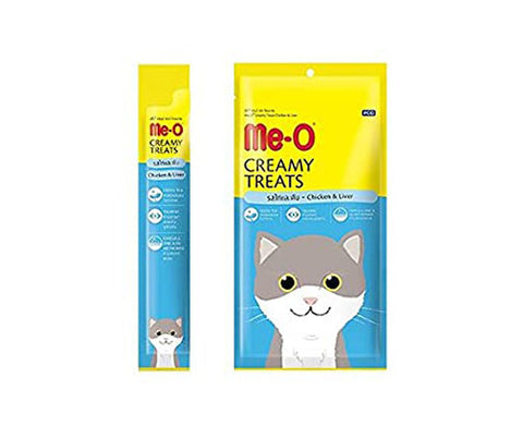 Me-O Creamy Treats - Chicken & Liver Flavor