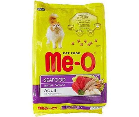 Me-O Seafood Flavoured Cat Food - 450g