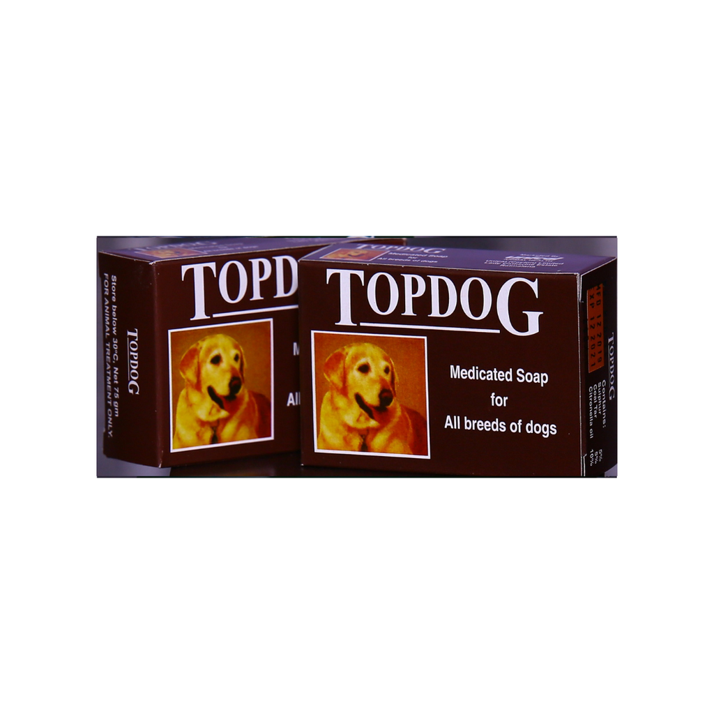 Top Dog Medicated Soap - 75g