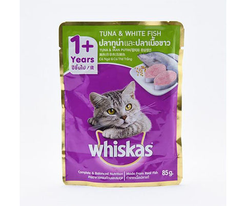 Whiskas Tuna & White Fish 85g - Adult Cat