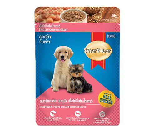 SmartHeart Pouch - Puppy 80G
