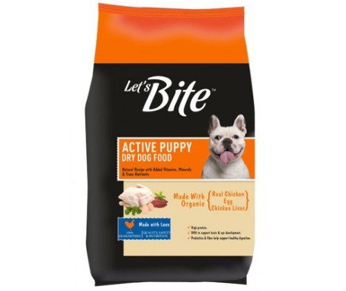Let's Bite Dog Food Puppy 10KG
