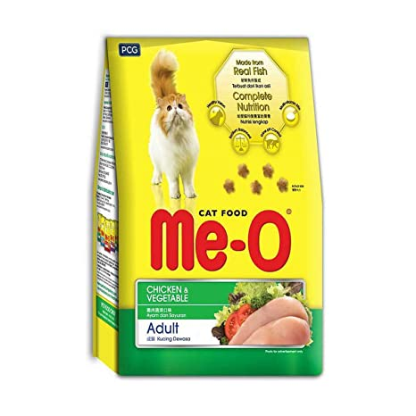 Me-O Chicken and Veg Flavoured Cat Food - 450g