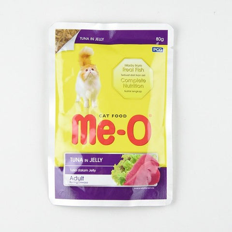 Me-O Tuna In Jelly Pouch 80G - Cats