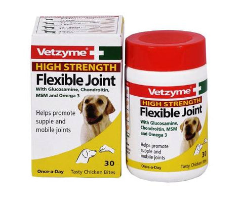 Vetzyme Hs Flexible Joint Tablets - 30 Tablets