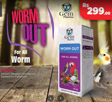 Worm Out Tonic for Birds - 10ml