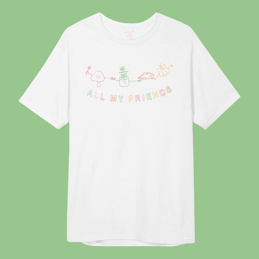 'ALL MY FRIENDS' S/S TEE