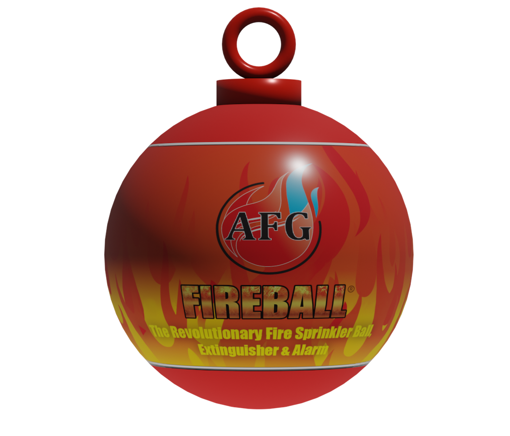 AFG Fireball-MINI-Fire Extinguisher Ball with Hanging Loop | www.quoradistribution.com
