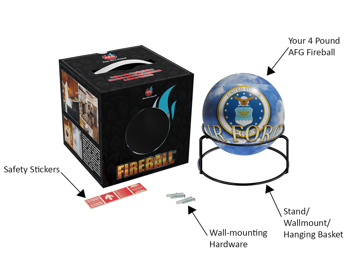 AFG FIREBALL NAVY | whats included image | www.quoradistribution.com