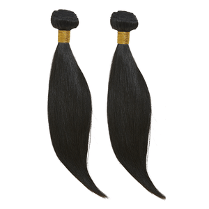 "12"" 12"" + 12"" Frontal Straight Bundle Deal - Harlem Hair Company"