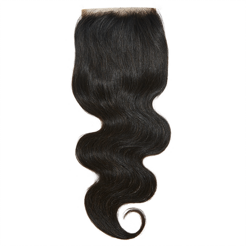 Virgin Brazilian Body Wave Closure  12 - Harlem Hair Company
