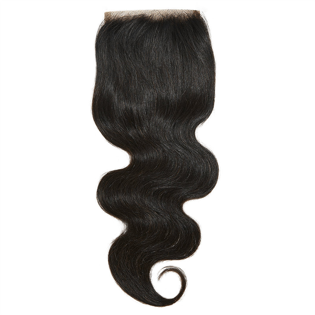 Virgin Brazilian Body Wave Closure - Harlem Hair Company