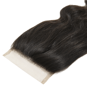 Virgin Brazilian Body Wave Closure  14 - Harlem Hair Company