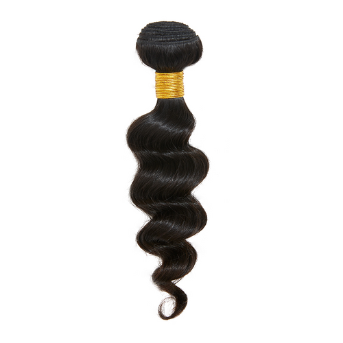 Virgin Brazilian Loose Deep Wave Bundle 12 - Harlem Hair Company