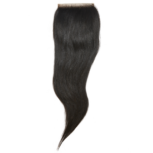 Virgin Brazilian Straight Closure 12 - Harlem Hair Company