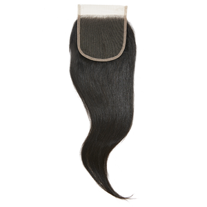 Virgin Brazilian Straight Closure  20 - Harlem Hair Company