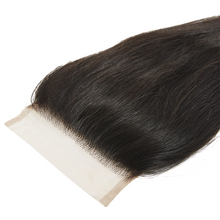 "Load image into Gallery viewer, 18"" 20"" 22"" + 16"" Closure Straight Bundle Deal 3 - Harlem Hair Company"